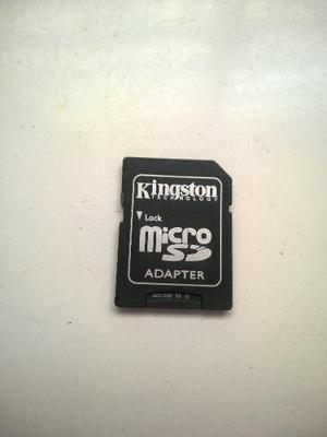 Adaptador Kingston Grande Micro Sd No Incluye Memoria
