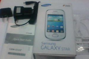 Caja Galaxy Star Accesorios (cargador,manos Libres,manual)