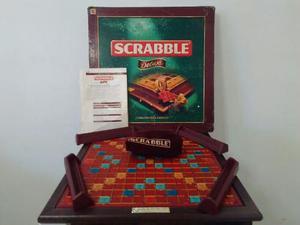 Juego De Mesa Scrabble De Luxe El Gran Juego De Palabras.