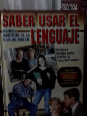 Manual Moderno de la Comunicación saber usar el lenguaje