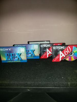 Vendo Cassettes virgenes