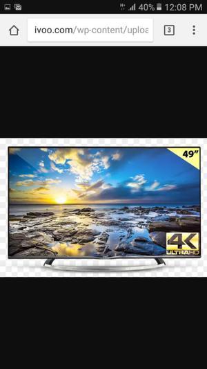 Smart Tv 4k de 49 Pulgadas
