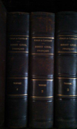 Coleccion De Libros De Leyes De Derecho Civil En Frances