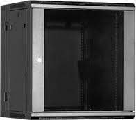 Gabinete (rack) De Pared 12 Rmu, Negro, Marca Linkbasic