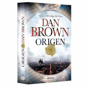 Libro Origen De Dan Brown + Simbolo Perdido + Codigo Davinci