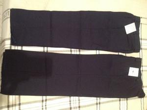 Pantalones Escolares Para Niñas Tallas 6 Y 8 (nuevos)
