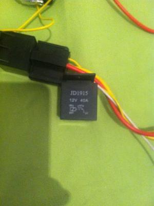 Relay Para Gps Tracker Y Alarmas Jdv 40amp