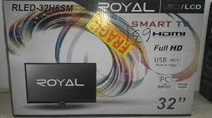 Tv Royal De 32 Pulgadas Led Smartv Wifi Hdmi Usb Nuevo