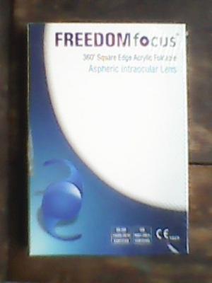 Lente Intraocular En Su Caja Sellado Freedom  D