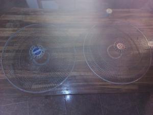 Rejillas De Ventilador Y Aspas De Metal Y Plastico (bases)