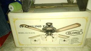 Vendo Ventilador De Techo Con Lampara Nuevo En Su Caja.
