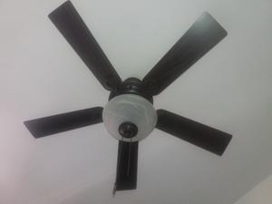 Ventilador De Techo Decorativo Con Lampara Central