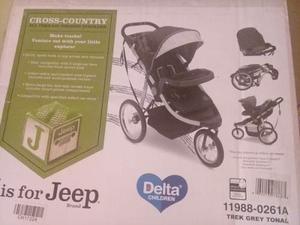 Coche De Bebe Tres Ruedas Jeep