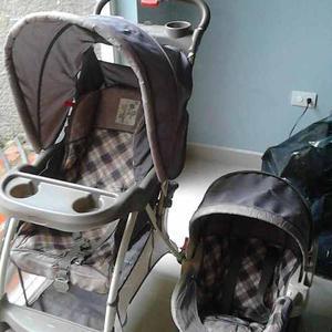 Coche Y Silla Porta Bebé Baby Trend Importados