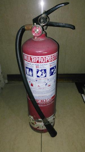 Extintor de Incendios sin Usar