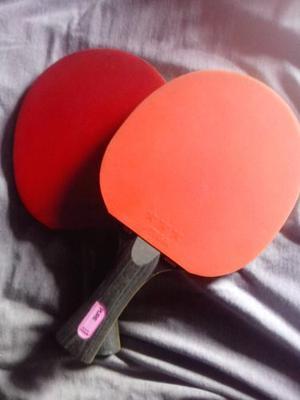 Raquetas Para Tenis De Mesa Butterfly Y Stiga