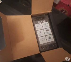BLU Dash L3 Nuevo en su caja Caracas.