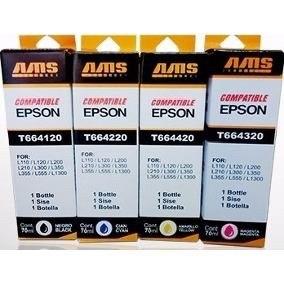 Botella De Tinta Ams Compatible Epson 100ml
