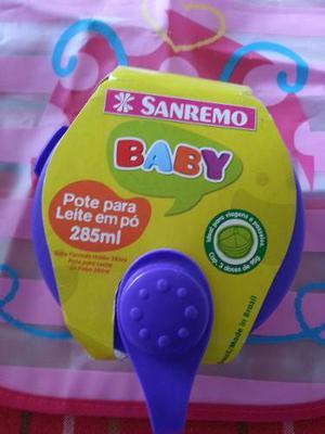 Combo Dispensador De Leche + Babero Plastico