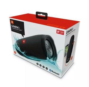 Corneta Jbl Charge 3 + Power Bank Bluetooth Aux Msd Micro