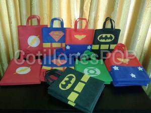 Cotillones Infantiles Super (superman, Batman, Entre Otros)