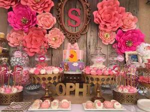 Flores De Papel Para Candy Bar