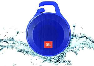 Jbl Clip + Corneta Portatil Bluetooth Azul 100% Original