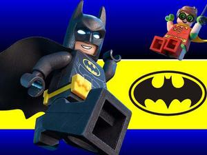 Kit Imprimible Candy Bar Batman Lego Golosinas Banderines