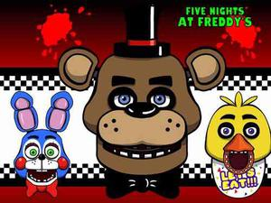 Kit Imprimible Candy Bar Five Nights At Freddy Cumples Y Mas