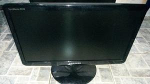 Monitor Samsung Lcd 19 Pulgadas Pantalla En Blanco P/rptos