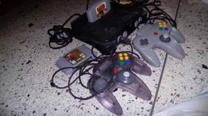 Nintendo 64, Con 2 Controles Y 2 Juegos