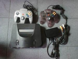 Nintendo 64 Consola + 2 Controles + 2 Juegos