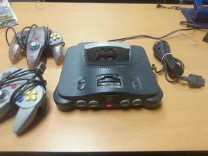 Nintendo 64 Dos Controles Un Juego Como Nuevo