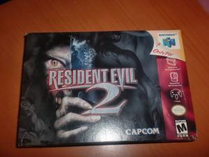 Resident Evil 2 - Nintendo 64 - Nuevo!!