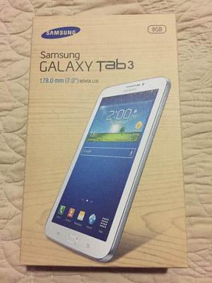 Samsung Galaxy Tab 3 Wifi + 3g Sm-t211 Nueva 100% Original
