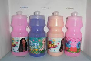Termos Plásticos Soy Luna, Frozen, Peppa Pig, Y Muchos +.