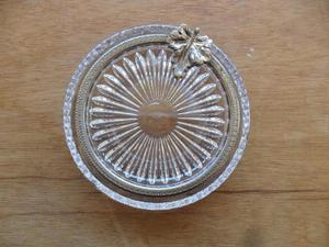 Cenicero De Cristal De Bohemia Original con detalles en