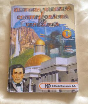 Libro Historia Moderna Y Contemp 4To Cs
