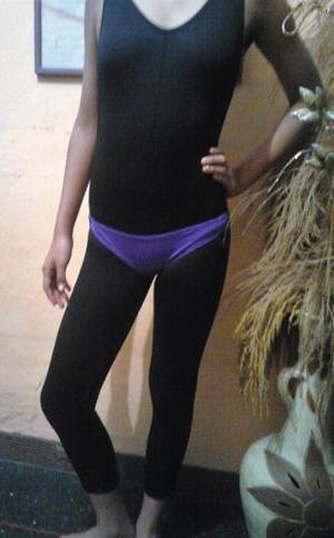 Malla Completa Para Danza/gimnasia/flamenco T-8 Y 10 Bs.200