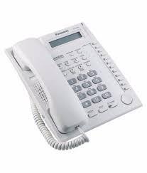 Telefono Operador Panasonic Kx-t Central Kx-tes824 + Fax