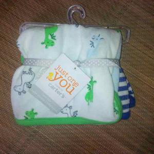 Toallas En Tela Para El Cuidado De Su Bebe (son 6)