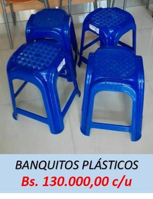 BANQUITOS PLÁSTICOS