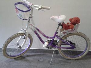 Bicicleta De Niña Rin 20 Venezia