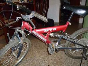Bicicleta Montañera Ring 20 Marca Konda Negociable Leer
