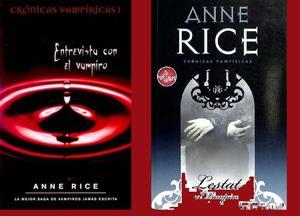 Cronicas Vampiricas Por Anne Rice Libro Fisico