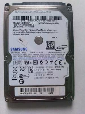 Disco Duro Samsung 320 Gb Para Lapto Sata