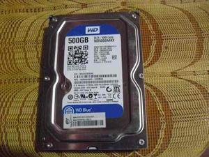 Disco Duro Western Digital Sata 500 Gb Para Pc Y Dvr