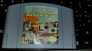 Juego De Nintendo 64 Star Wars Episode 1 Racer