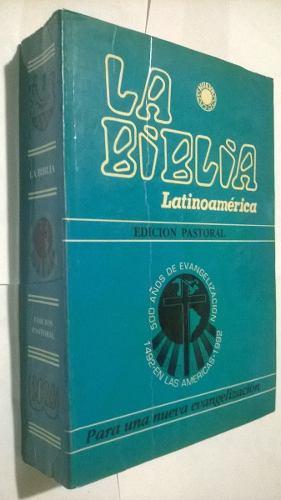 La Biblia Latinoamericana Edición Pastoral. Biblia