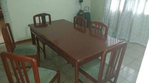 Mesa Comedor De 6 Puestos